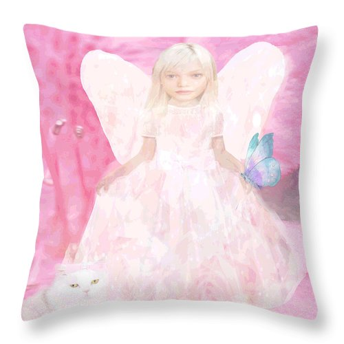 Pretty in Pink - Throw Pillow