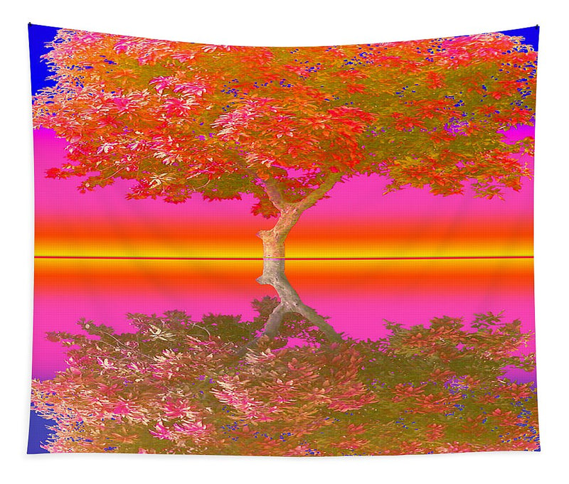 Sunset Tree - Tapestry
