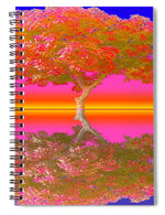 Sunset Tree - Spiral Notebook