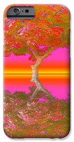 Sunset Tree - Phone Case