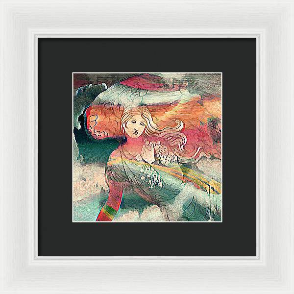 Rainbow Lightness - Framed Print