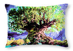 Large Old Tree - Throw Pillow