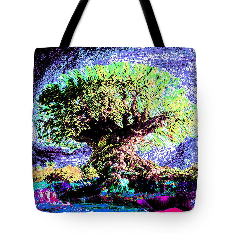 Large Old Tree - Tote Bag