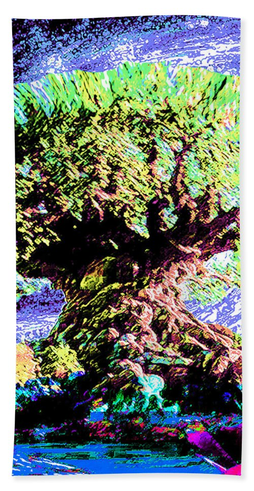 Large Old Tree - Bath Towel