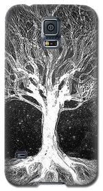 Starry Night Tree of Life - Phone Case