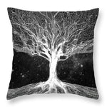 Starry Night Tree of Life - Throw Pillow
