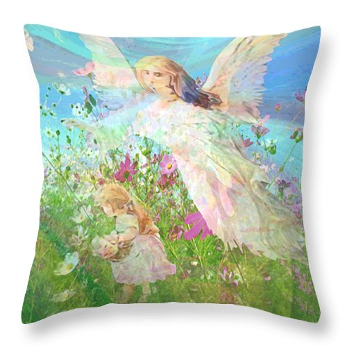 Summer Breeze - Throw Pillow