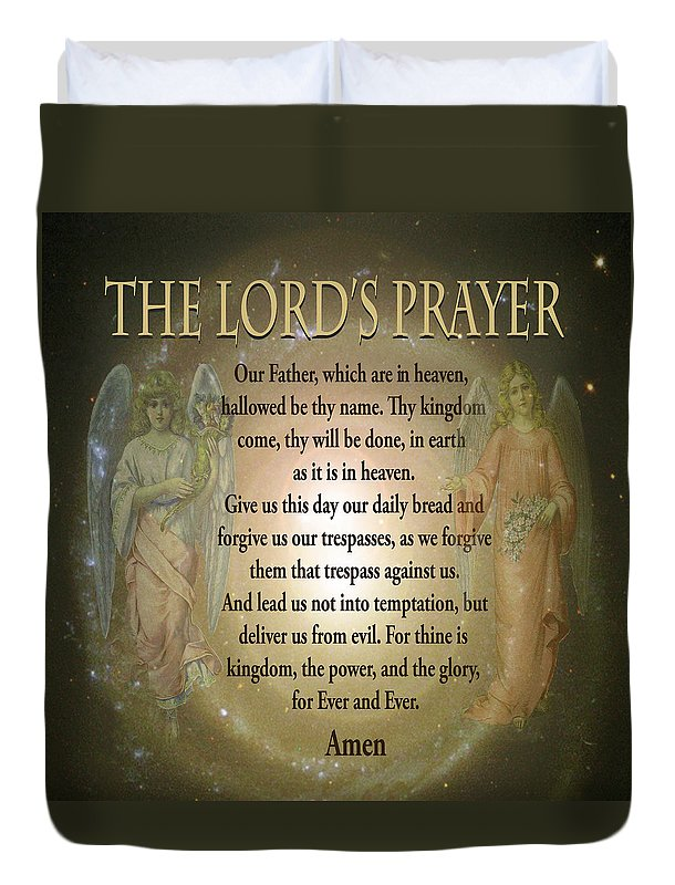The Lord's Prayer - Duvet Cover