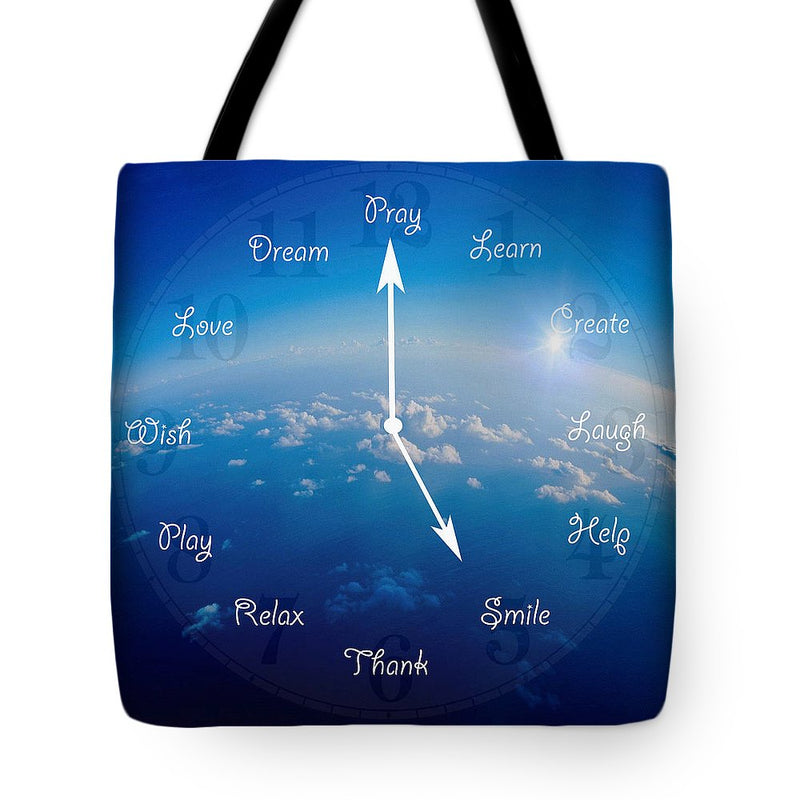 Time to Smile - Tote Bag