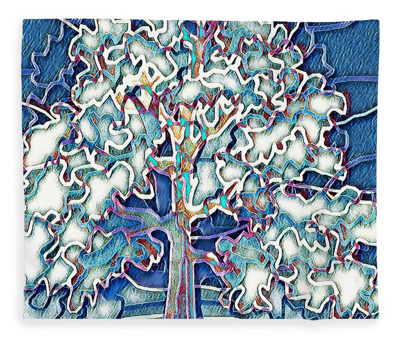 Tree Abstract - Blanket