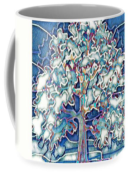 Tree Abstract - Mug