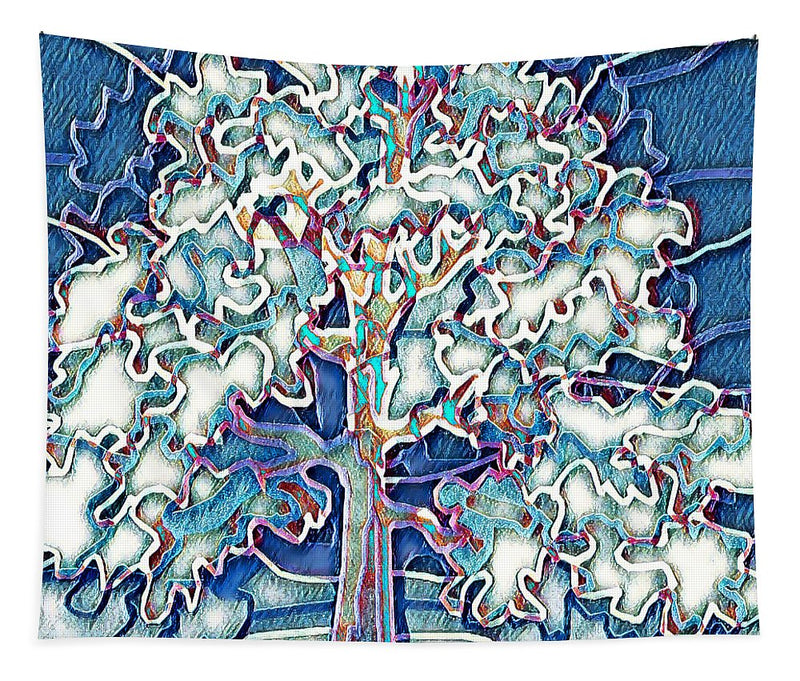 Tree Abstract - Tapestry