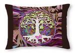 Tree of Life New Beginnings - Throw Pillow