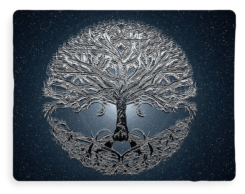 Tree of Life Nova Blue - Blanket