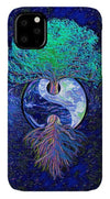 Tree of Life Yin Yang - Phone Case