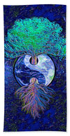 Tree of Life Yin Yang - Bath Towel