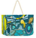 Tropical Breeze Abstract - Weekender Tote Bag