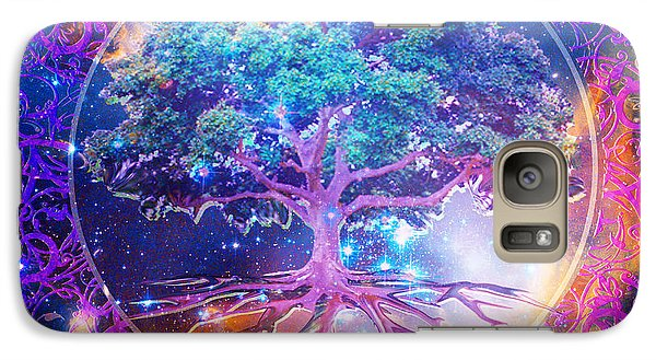 Tree of Life in Space - Phone Case