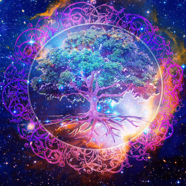 Tree of Life in Space - Art Print