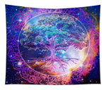 Tree of Life in Space - Tapestry