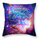 Tree of Life in Space - Throw Pillow