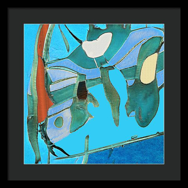 Wilderness Abstract - Framed Print