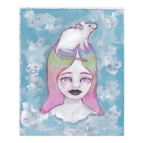 """You Are My Rainbow Bridge"" Art Print"