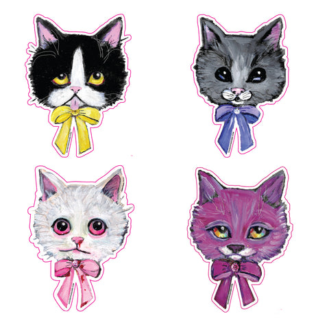 BOWTIE CAT stickers!