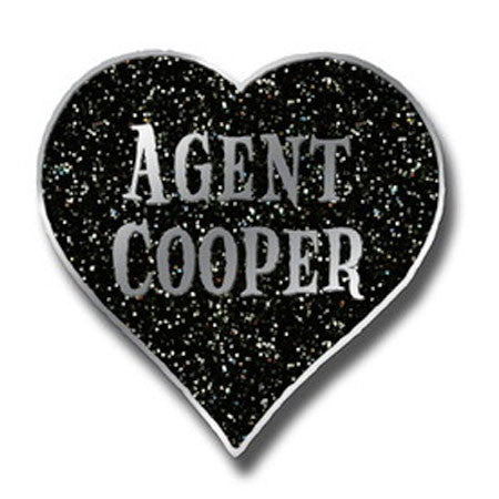 Agent Cooper Heart - Pin