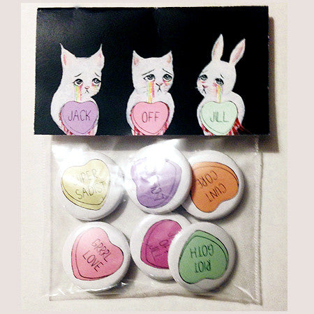 Jack Off Jill - Button Pack