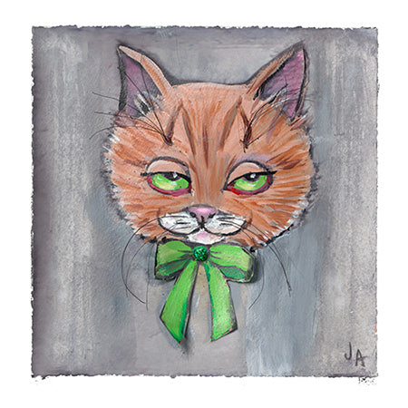 """Herb"" Cat - Art Print"
