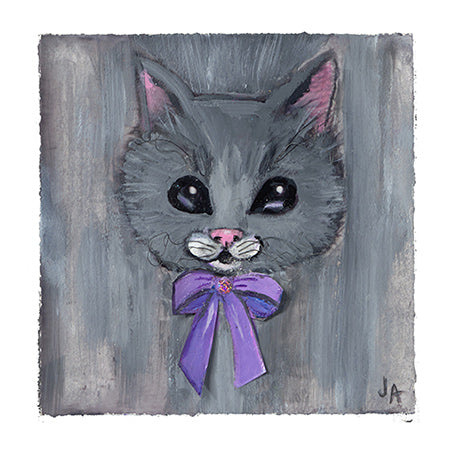 """Huffy"" Cat - Art Print"