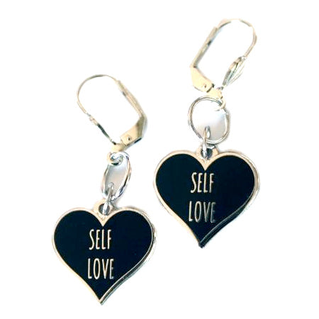 Self - Love Heart Earrings