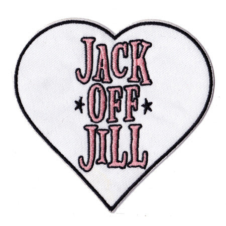 Jack Off Jill - Embroidered Patch