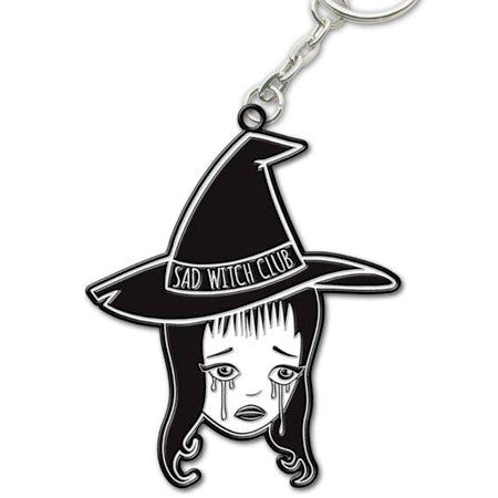 Sad Witch Club keychain