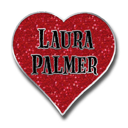 Laura Palmer Heart - Pin
