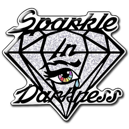 Sparkle in Darkness pin