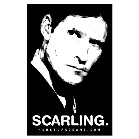"Scarling. ""Crispin Glover"" - Sticker"