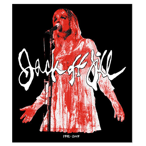 "Jack Off Jill ""Bloody Reunion"" - Sticker"