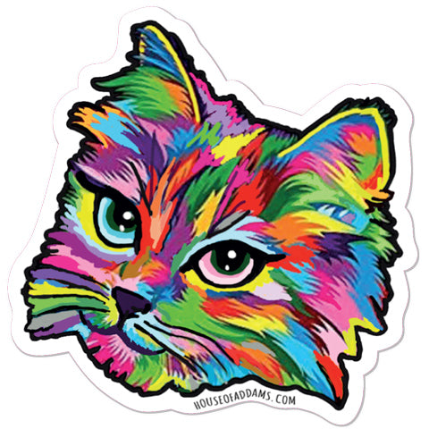 """Inclusive Rainbow Cat "" - Sticker Set"