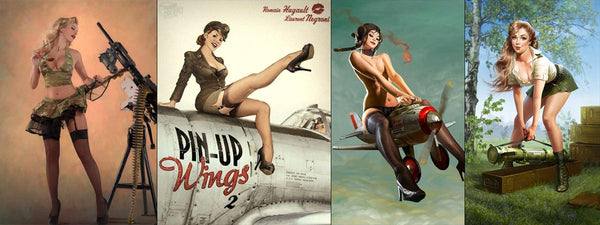 Pin-Up Militaire