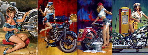 Pin-Up Moto