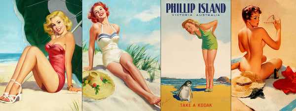 Pin-Up Plage
