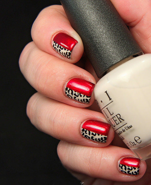 Ongles pin-up rockabilly