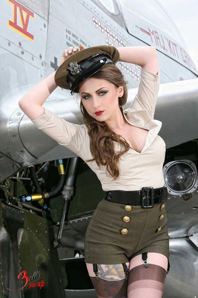 Photo sexy militaire vintage