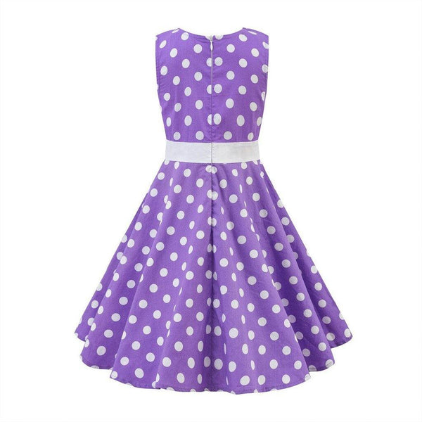 Robe Année 50 Fille