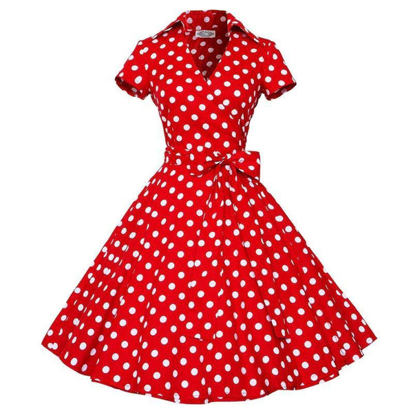 Robe Année 50 Pin Up Pas Cher