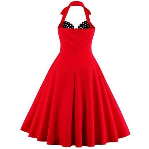 Robe Pin Up Années 50 Rockabilly Vintage Belsira Bella