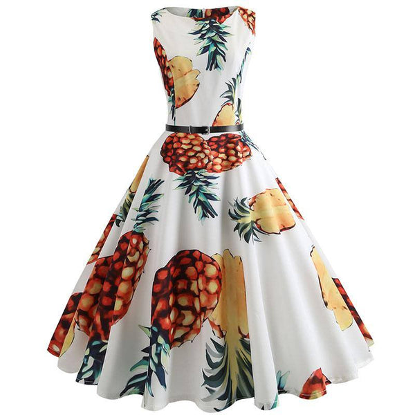 Robe Pin Up Fruit