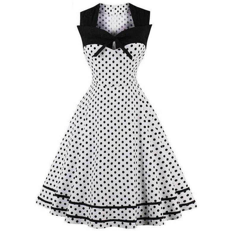 Robe Pin Up Grande Taille Petit Pois